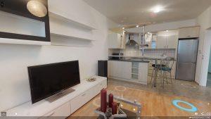 3D prohlídka bytu 2+kk, Brno-Řečkovice